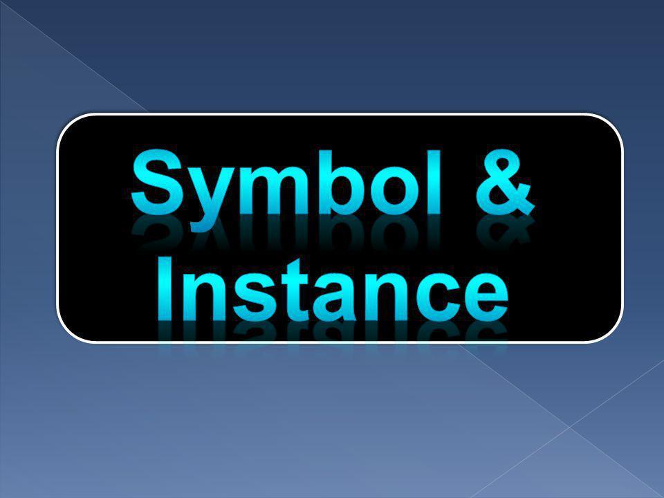  ซิมโบลคือภาพนิ่ง ภาพเคลื่อนไหว หรือปุ่ม ซึ่งเป็นต้นฉบับ สำหรับการนำมาใช้ได้ไม่จำกัดจำนวนครั้งในรูปของ Instance เมื่อเรานำ Instance ของ Symbol มาใช้บนสเตจ เราสามารถ ปรับแต่ง Instance นั้นๆได้ เช่น เปลี่ยนสี ขนาด หมุน บิด ฯลฯ โดยที่การปรับแต่งนั้นจะไม่ส่งผลกระทบต่อ Symbol ต้นแบบ และ Instance ตัวอื่นที่สร้างจาก Symbol เดียวกันนั้น แต่ถ้าเรา แก้ไข Symbol มันจะไปปรับปรุง Instance ทุกตัวที่สร้างจาก Symbol ดังกล่าวโดยอัตโนมัติดังนั้นเมื่อนำ Symbol และ Instance มาใช้ในมูฟวี่จึงทำให้การแก้ไขมูฟวี่ทำได้ง่ายขึ้น