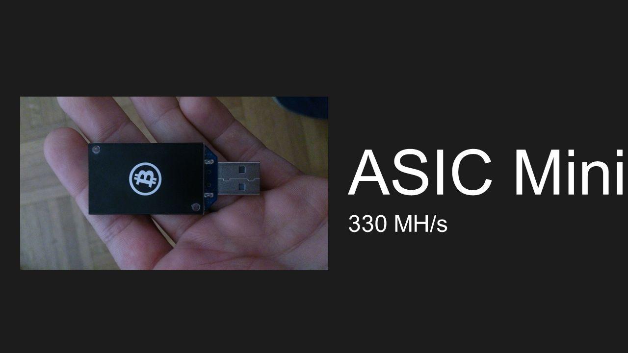 ASIC Mining 330 MH/s