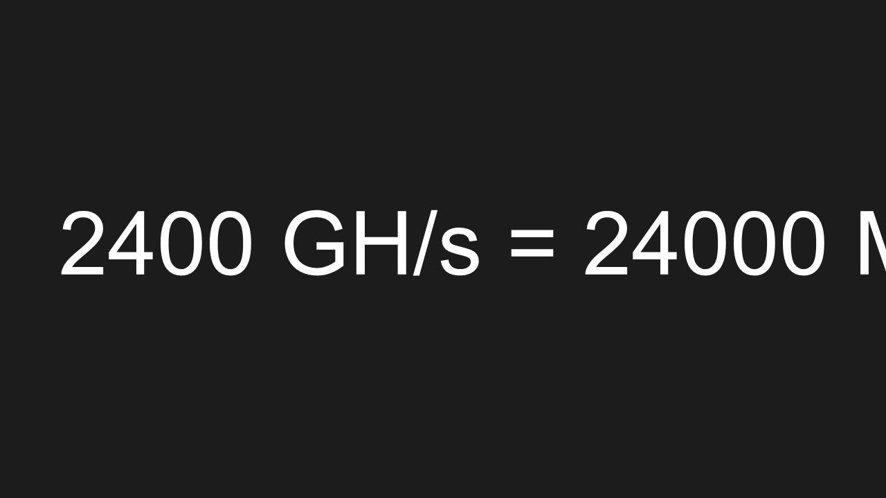 2400 GH/s = 24000 MH/s