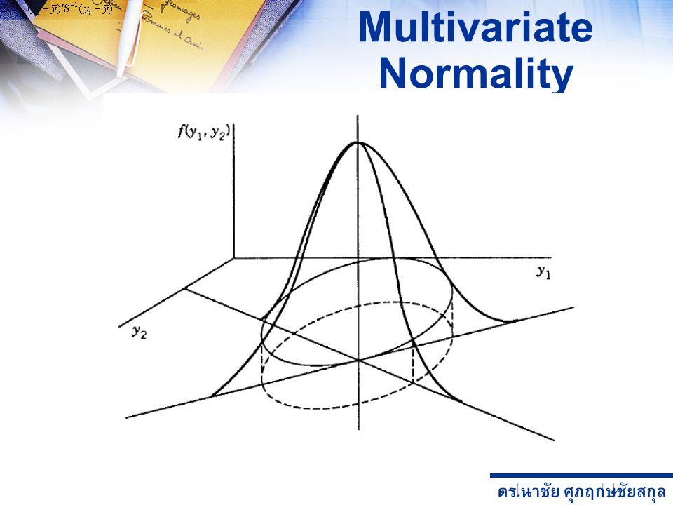 ดร. นำชัย ศุภฤกษ์ชัยสกุล Multivariate Normality