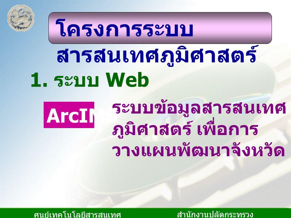ศูนย์เทคโนโลยีสารสนเทศ และการสื่อสาร สำนักงานปลัดกระทรวง มหาดไทย 1.