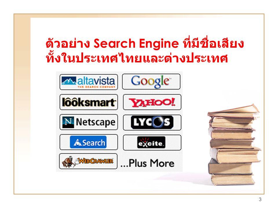 3 ตัวอย่าง Search Engine ที่มีชื่อเสียง ทั้งในประเทศไทยและต่างประเทศ