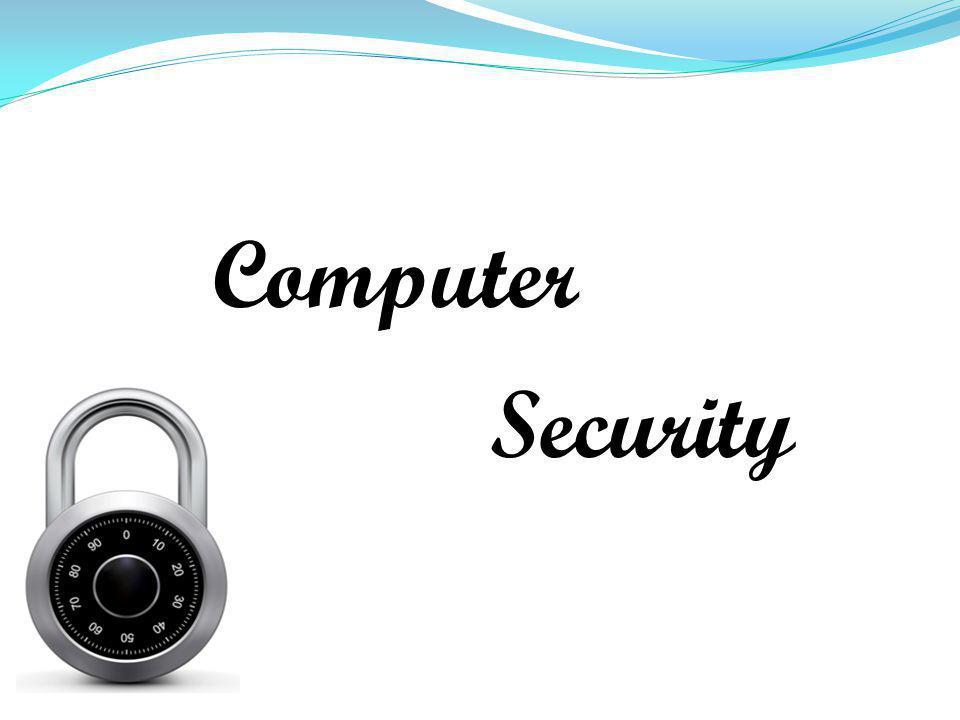 Computer Security กระบวนการตรวจสอบ กำหนด และป้องกันการเข้าถึง คอมพิวเตอร์โดย ไม่ได้รับอนุญาติ - software - file system - network ระบบปฏิบัติการควรจะป้องกัน ไม่ให้ โปรแกรมหนึ่งเข้า ถึงพื้นที่ของอีก โปรแกรมหนึ่งในหน่วย ความจำ มีการกำหนดสิทธิ์ในการเข้าถึง, อ่าน, แก้ไขหรือลบไฟล์ ให้ user แต่ละคน firewall ป้องกัน Network จากการ สื่อสารที่ไม่ได้รับอนุญาติ