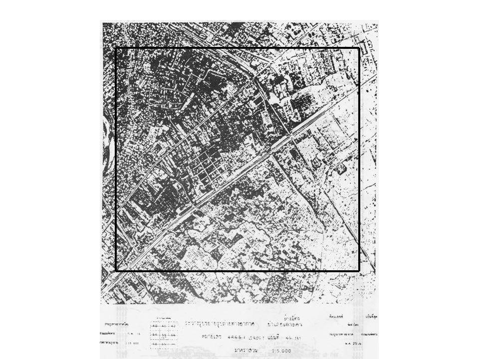 ระวางรูปถ่ายทางอากาศ ( น. ส. 3 ก ) มาตราส่วน 1 : 5,000 มาตราส่วนขยาย 1 : 1,250 เรียกว่ากลุ่มขยาย งาน