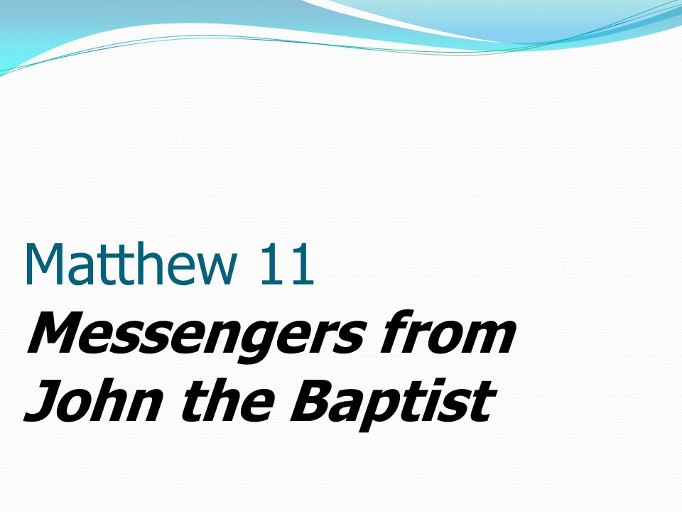 1 When Jesus had finished instructing his twelve disciples, he went on from there to teach and preach in their cities.