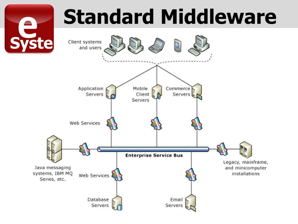 e Syste m Standard Middleware