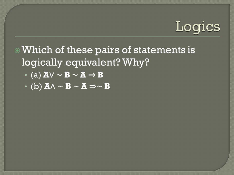 กำหนดให้ P, Q, R, X, Y เป็นประพจน์โดย P แทน น้อยหน่าไม่ตั้งใจเรียนวิชาคณิตศาสตร์ Q แทน น้อยหน่าไม่ได้มาสอบไล่วิชาคณิตศาสตร์ R แทน น้อยหน่าสอบผ่านวิชาคณิตศาสตร์ X แทน วันนี้อากาศร้อนมาก Y แทน วันนี้ฝนตกตอนบ่าย  จงเขียนประพจน์ต่อไปนี้ในรูปของประโยคข้อความ หรือสัญญลักษณ์ P   R (P   R)  (Q   R) วันนี้อากาศร้อนมากจนทำให้มีฝนตกในตอนบ่าย ฝนตกในตอนบ่ายก็ต่อเมื่ออากาศร้อนมาก
