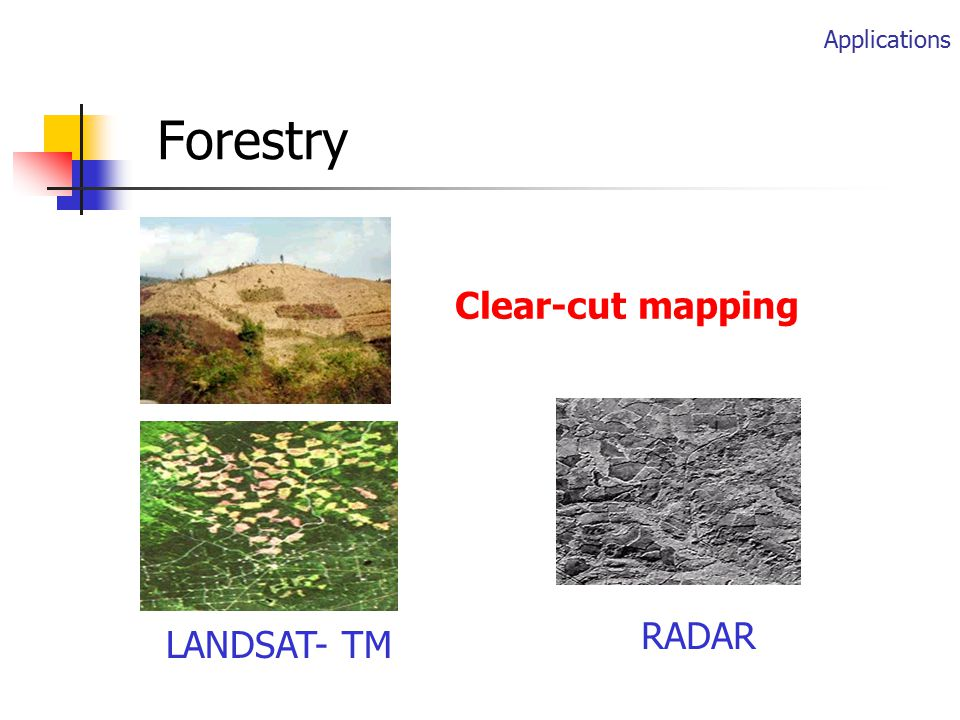 Agriculture Crop type mapping Crop monitoring etc.