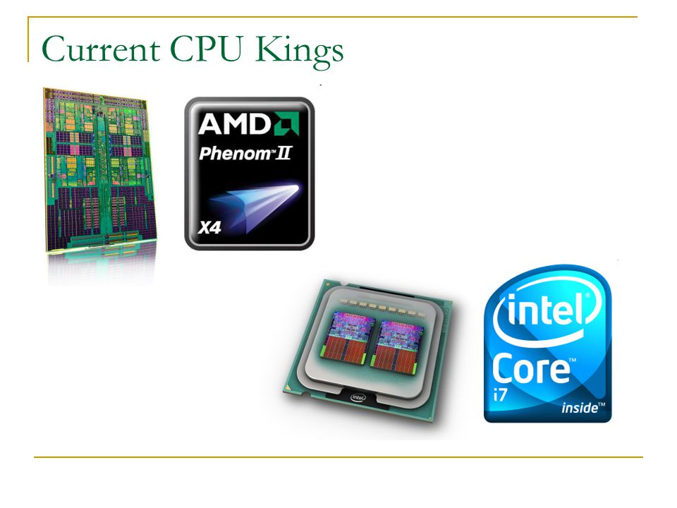 Current CPU Kings