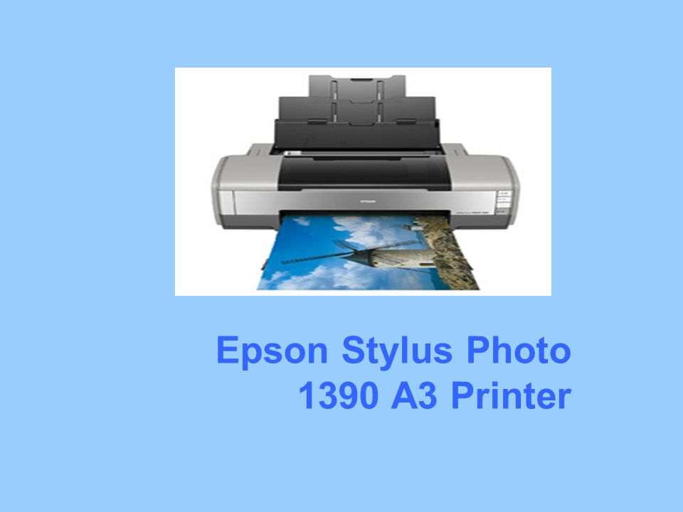 Epson Stylus Photo 1390 A3 Printer