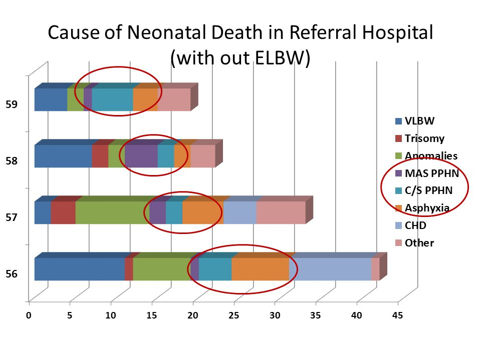 Cause of Neonatal Death in Referral Hospital (with out ELBW)