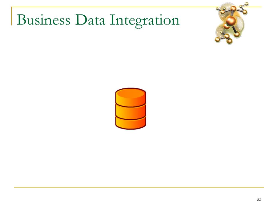 33 Business Data Integration