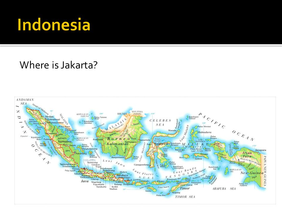 Where is Jakarta