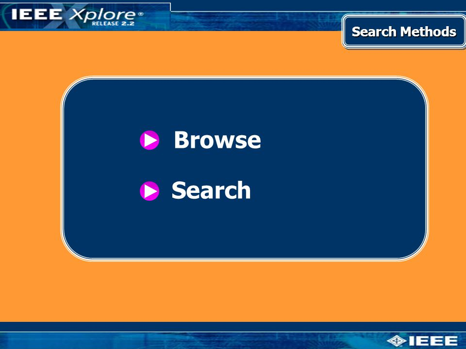 Browse Search Search Methods