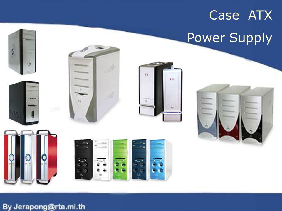 Case ATX Power Supply