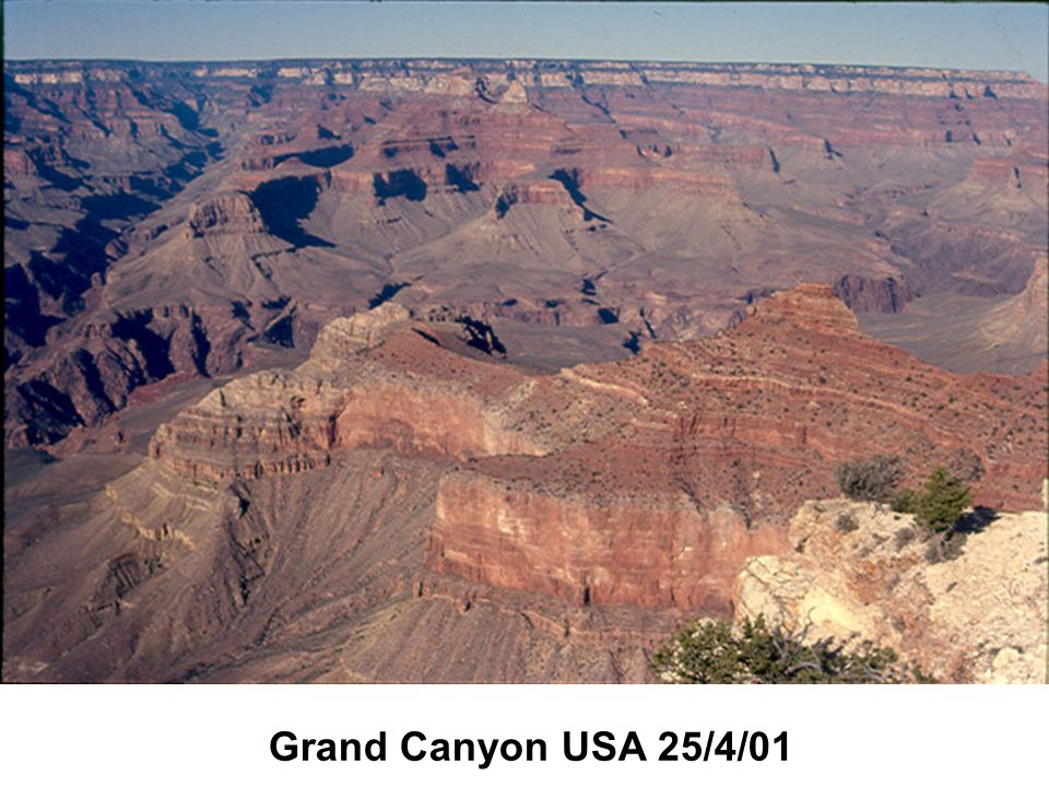 Grand Canyon USA 25/4/01