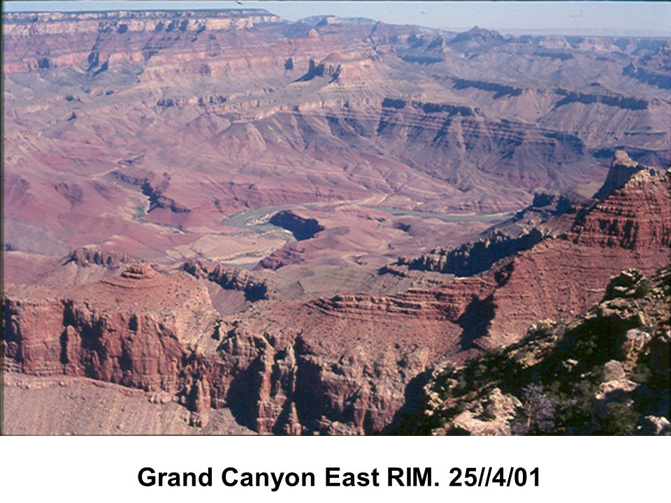 Grand Canyon East RIM. 25//4/01