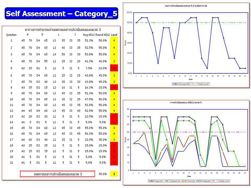 Self Assessment – Category_5
